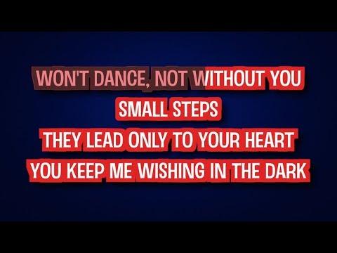 If You're Never Gonna Move - Jessie Ware | Karaoke LYRICS