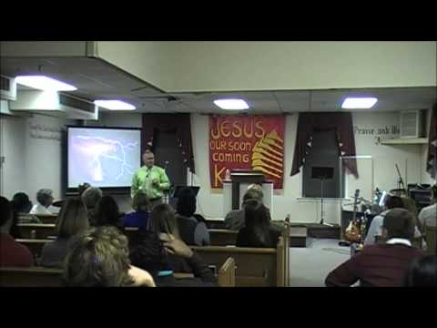 Rev.Kevin Paul Jackson preaches at Cathedral Bible College