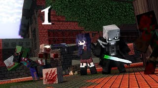 Zombie Apocalypse Challenge  The Infection Part 1 - Minecraft Animation