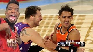 2020 NBA Rising Stars - Full Game Highlights - World vs USA | 2020 NBA All-Star Weekend