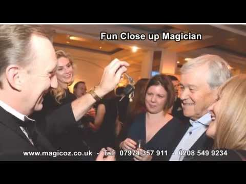 Magician Surrey Magic OZ the best for smiles around