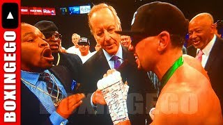 """Video DANNY GARCIA GETS INVADED BY SHAWN PORTER AFTER KNOCKING OUT RIOS TELLS HIM TO """"GTFOH"""" download MP3, 3GP, MP4, WEBM, AVI, FLV Juli 2018"""
