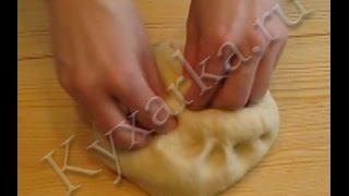 видео Заварное тесто для вареников рецепт
