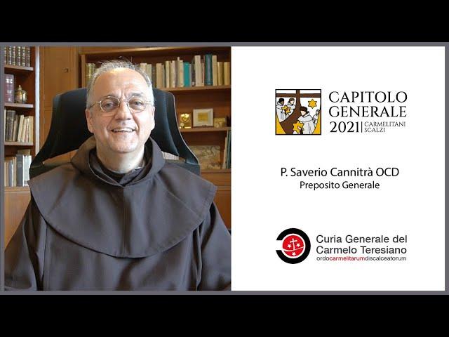 Presentazione del Capitolo Generale 2021 - Carmelitani Scalzi