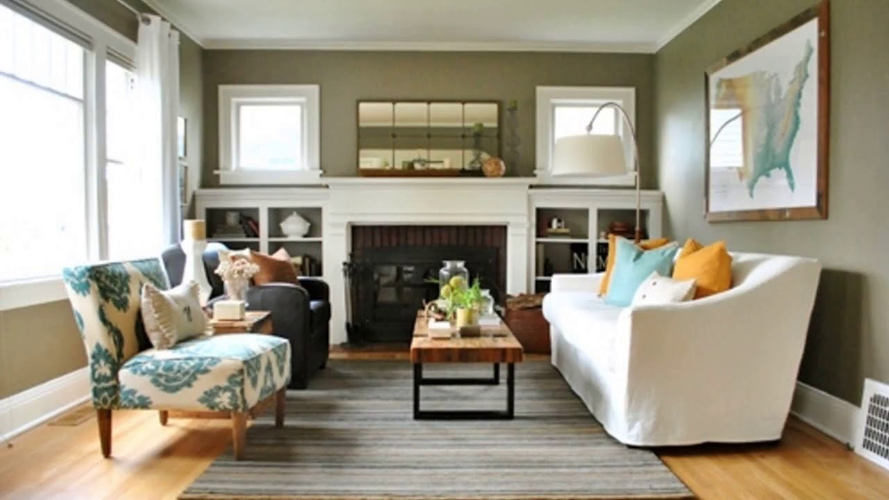 Top 40 Small Living Room Improvement Ideas | Luxury Cabin ...