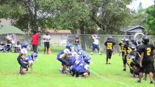Gulfport Pirates Vs Lee County Steelers: 2012 season touchdown Highlights