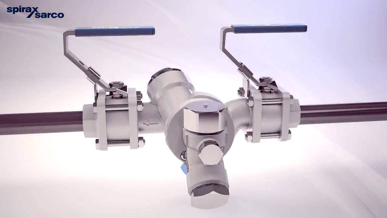 Total Cost Of Ownership >> Spirax Sarco Steam Trapping Station STS 17 2 - YouTube