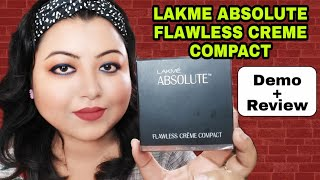 Lakme Absolute Creme Compact Review & Demo