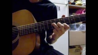 AFI - The Leaving Song Pt. 2 - Acoustic Guitar Cover