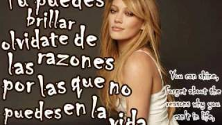 Fly - Hilary Duff Traducida al Español