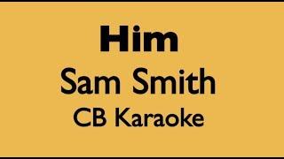 HIM - Sam Smith Karaoke Instrumental Acoustic