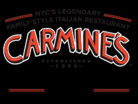 Carmine's Restaurant Review Broadway NEW YORK Theater District 47th Street NYC