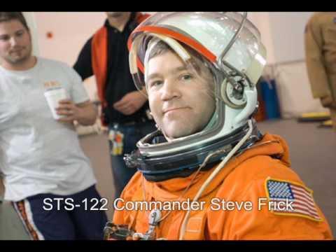 Wake up! Commander Steve Frick