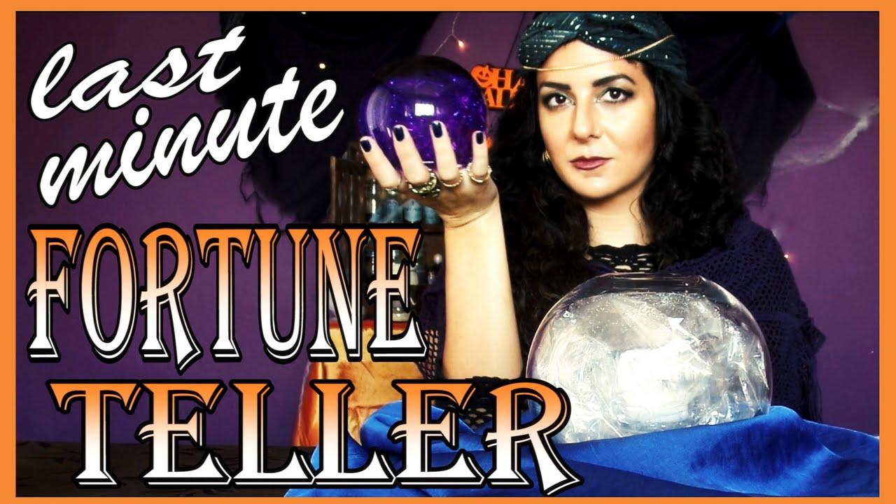Diy Fortune Teller Crystal Ball Last Minute Halloween