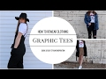 How to Rewear Clothing: Graphic Tees