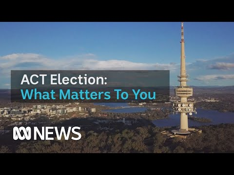 The cost of living, public transport and healthcare are key issues in the ACT Election | ABC News