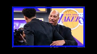 Believe it or not, lavar ball think the lakers should give the child more playing time by lonzo new
