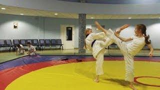 Зрелищная тренировка отделения тхэквондо спортивной школы №3