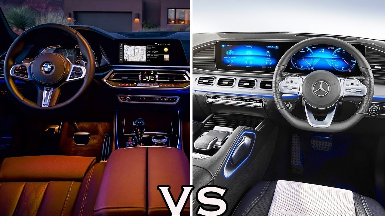 2019 Mercedes Gle Vs 2019 Bmw X5 Interior Comparison Youtube