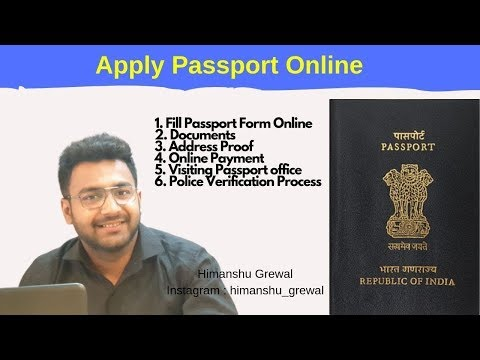 How To Apply For Fresh Indian Passport Online In 2020 [Step By Step Guide]