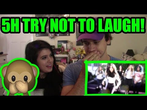 """""""FIFTH HARMONY TRY NOT TO LAUGH CHALLENGE!"""" 