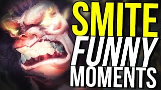 WORST SMITE GRAPHICS AND THE STOLEN PENTAKILL! (Smite Funny Moments)