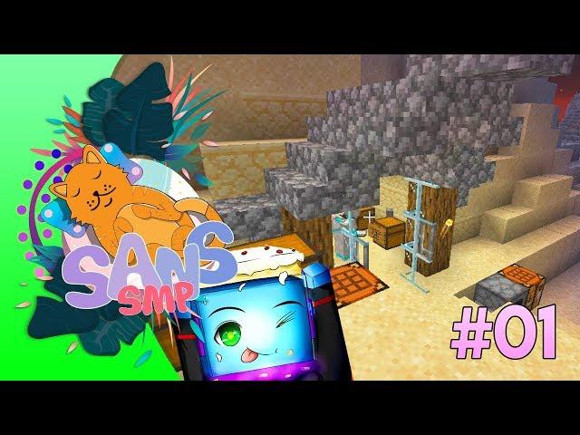 PEMBUKAAN TOKO CREAMTEAM - Minecraft Indonesia Sans SMP Episode 1