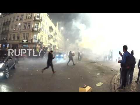 Sweden: NYE chaos in Malmo as revellers battle with fireworks