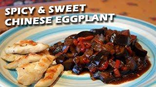 Баклажаны в остро-сладком соусе |FE| Eggplants with sweet chili sauce