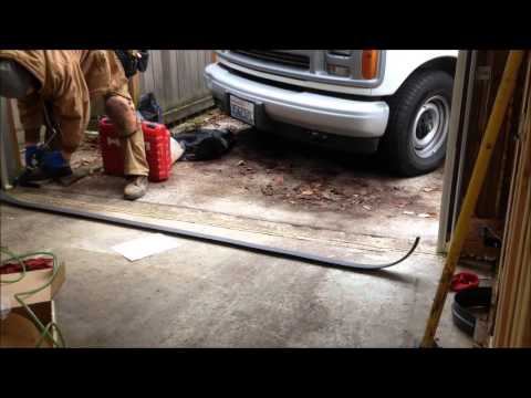 Tsunami Garage Door Seal Youtube