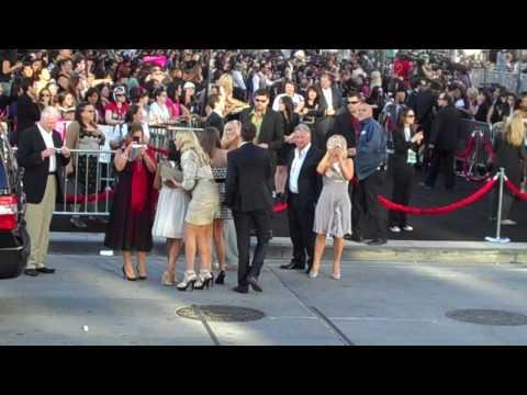 The Pattinson Family at Eclipse Black Carpet Premiere 6.24.10