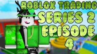 Roblox Trading S2 | Roxo Bubble Trouble + Green Sparkle tempo Fedora! | Episódio 4