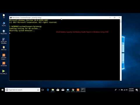 Windows 10 Tip 1: Check Battery Capacity and Health on Windows using command prompt(CMD)