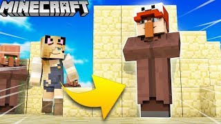 VILLAGER TROLL?! - ZABAWA W CHOWANEGO W MINECRAFT (Hide and Seek) | Vito vs Bella