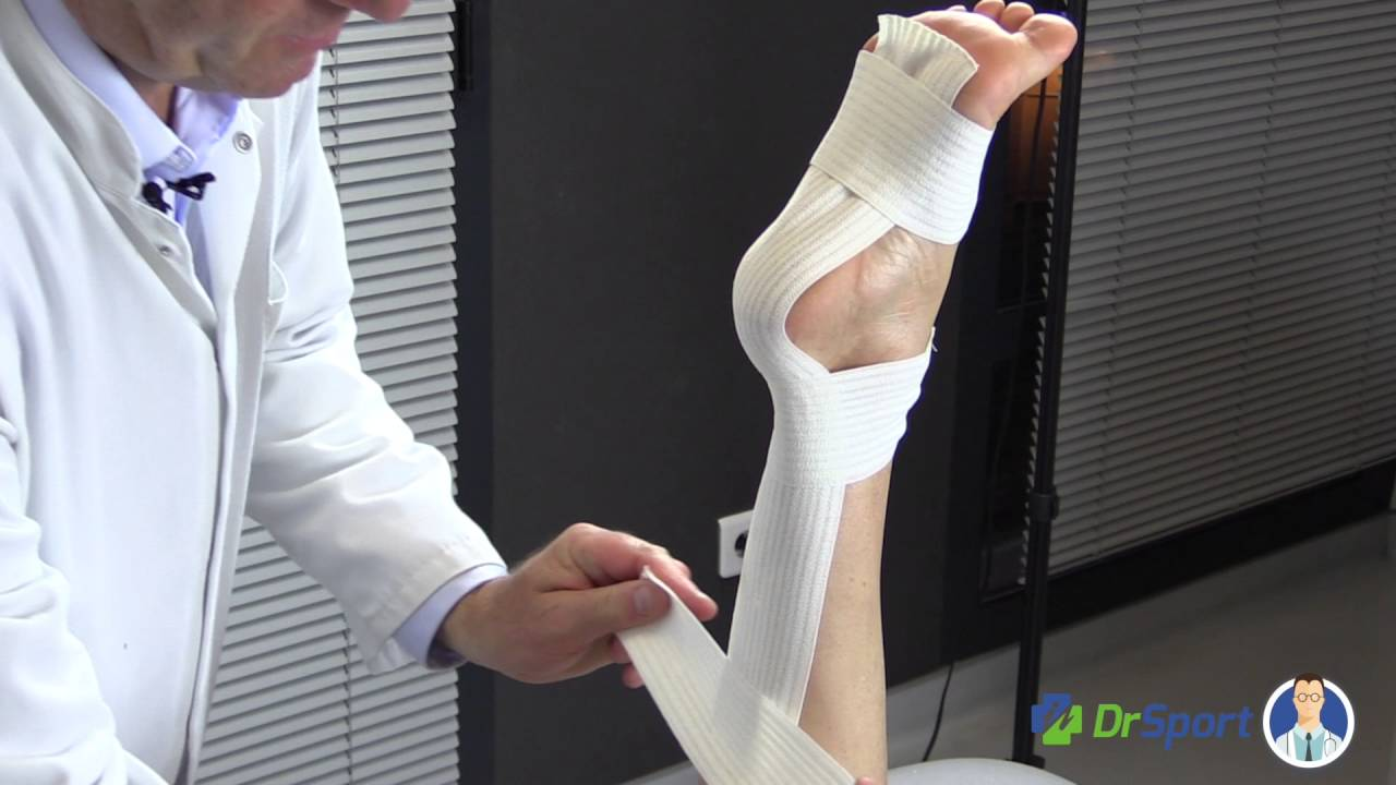 grosses soldes choisir véritable gamme de couleurs exceptionnelle Comment faire un strapping limitant la flexion dorsale de la cheville ?  [TUTORIEL] | Dr Sport