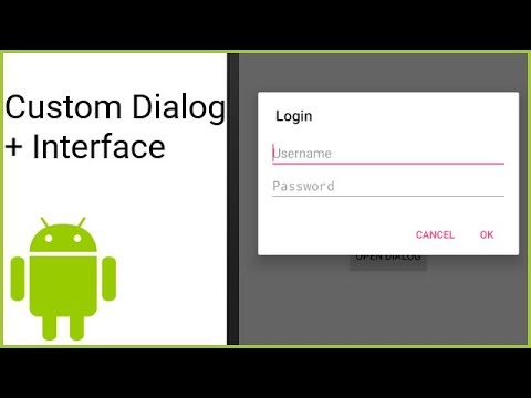 Custom Dialog + Sending Information To Activity - Android Studio Tutorial