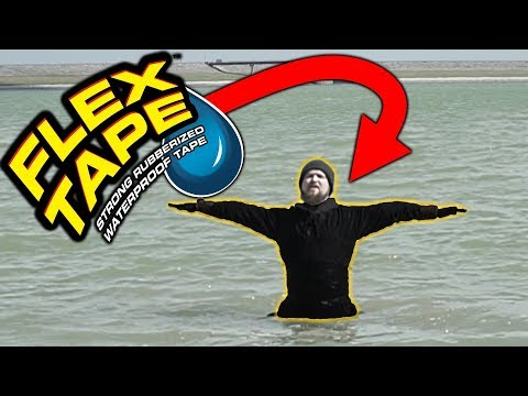 I made a waterproof suit with FLEX SEAL