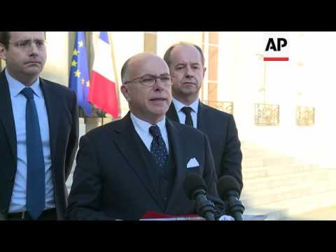 Cazeneuve statement on Paris gun attack