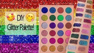 DIY Glitter Palette! Easy to Use!   Melissa Samways