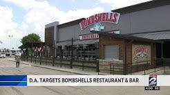 DA targets Bombshells restaurant and bar