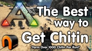 Ark Survival Evolved - How to get Chitin