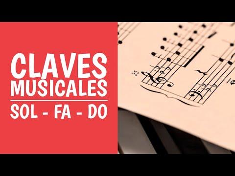 7 Claves Musicales Clave De Sol Fa Y Do Aprende Solfeo Jugando