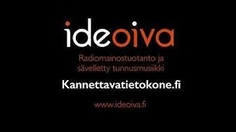 Ideoivan äänituotantoa: radiomainos ja sävelletty tunnusmusiikki kannettavatietokone fi