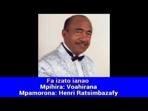Henri Ratsimbazafy Fa izato ianao