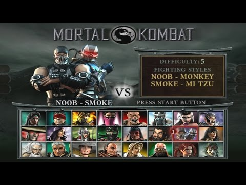 Mortal Kombat : Deception - Arcade Playthrough (PS2)