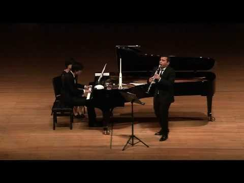 Paul Schoenfield - Sonatina for Klezmer Clarinet and Piano