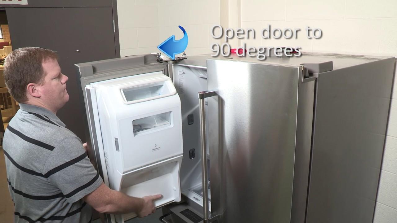 Reset For Slow Close Refrigerator Door