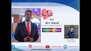 You Talk with M C David | Anchor & Event Catalyst | by Susan Moss | You Talk Media | youtalk.media