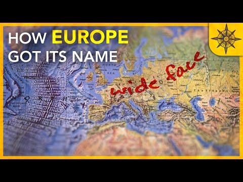 How Europe Got its Name