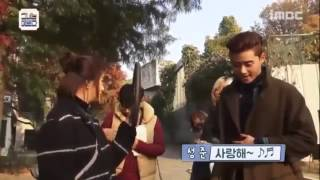 PARK SEO JOON & HWANG JUNG EUM BTS